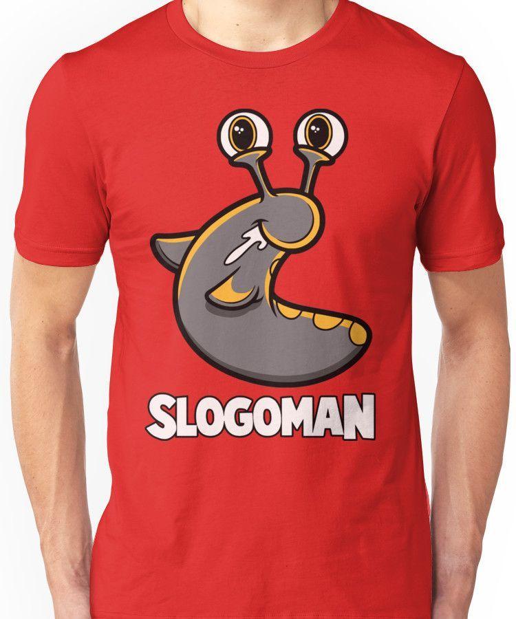 SLOGOMAN HOODY Soft Cute Boys Kids Girls Party Cotton T-Shirt Short Sleeved Top