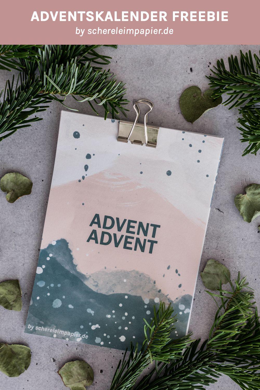 Ausdrucken & Verschenken: Last Minute Adventskalender selber machen