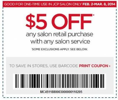 Jcpenny Salon Coupon 5 Off Any Salon Purchase With Any Salon Service Salon Services Jcpenney Salon Jcpenney Coupons