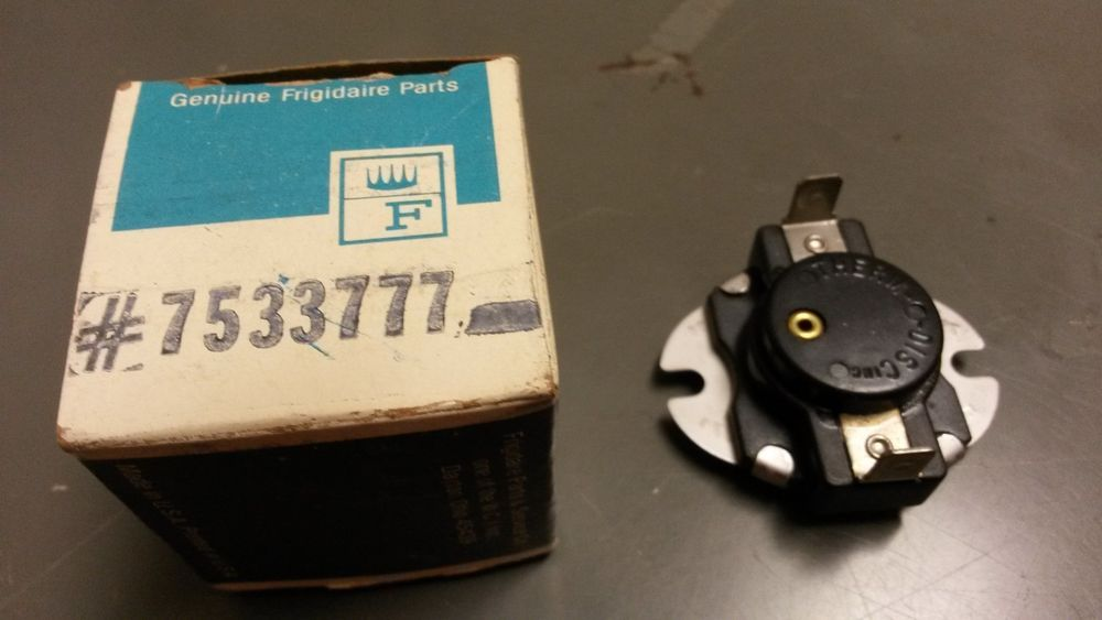 antique frigidaire dryer high limit thermostat 7533777