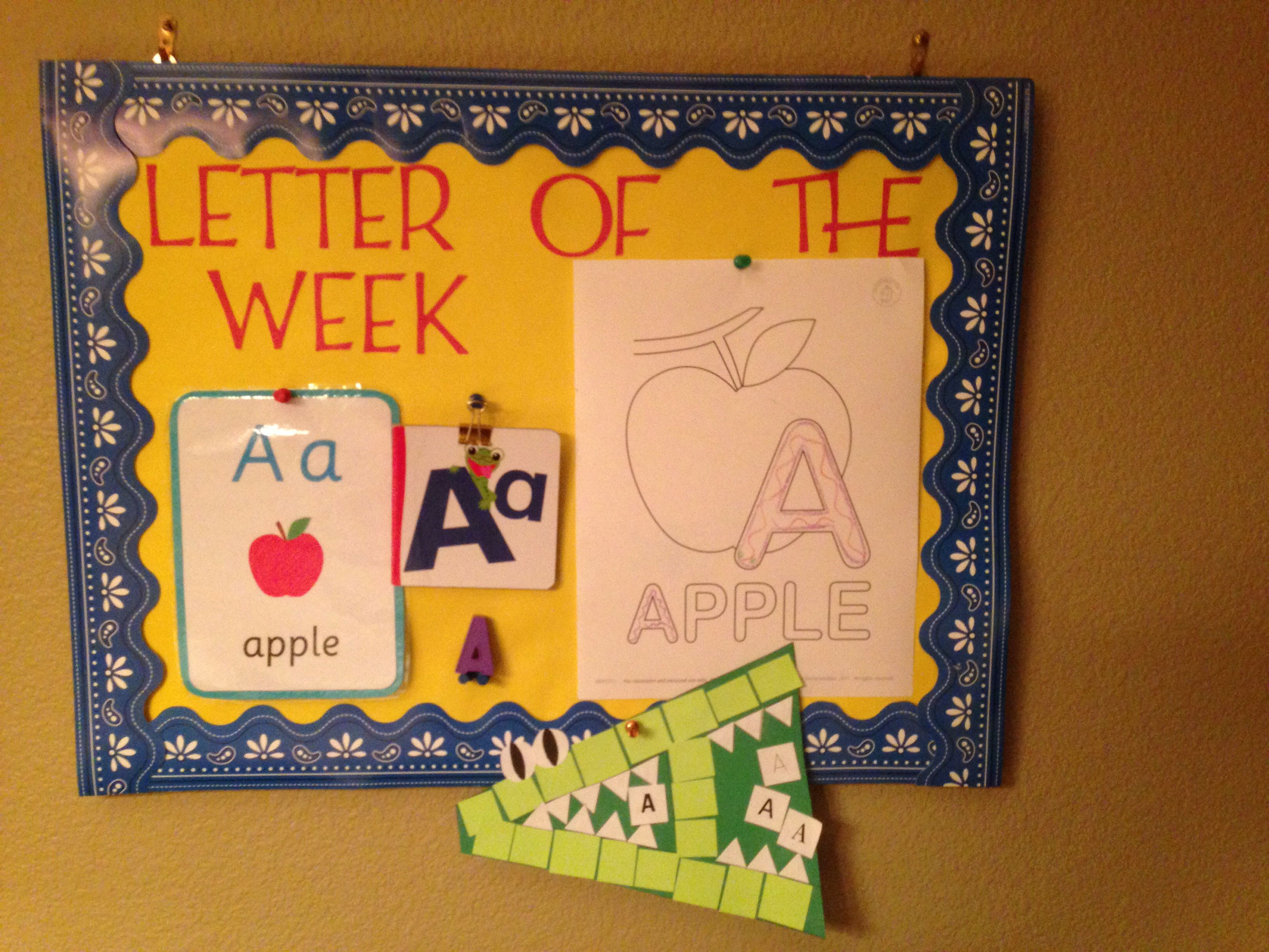 Small Bulletin Board In Dining Room So We Can Discuss The Letter