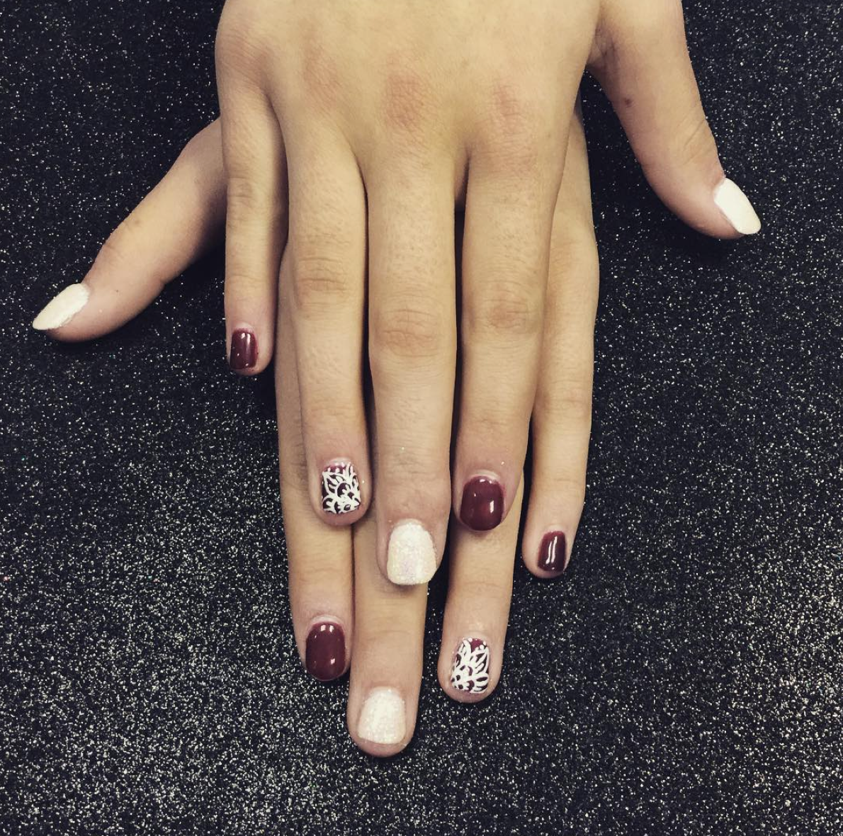 Gel manicure at Oliver Finley Academy of Cosmetology