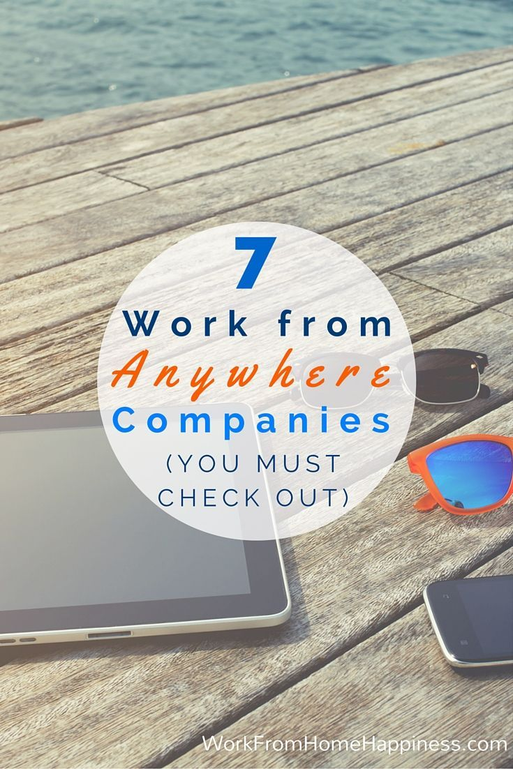 7 Work from Anywhere Companies You Must Check Out   Flexibility ...