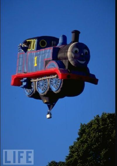 Thomas The Tank Hotair Balloon Hot Air Balloon Balloons Air Balloon