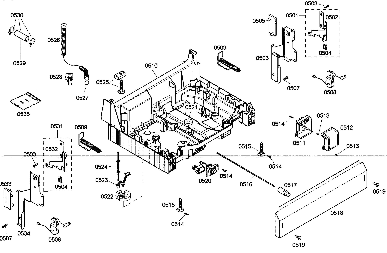 Bosch Dishwasher Parts Diagram Bosch Dishwashers Dishwasher Parts Bosch