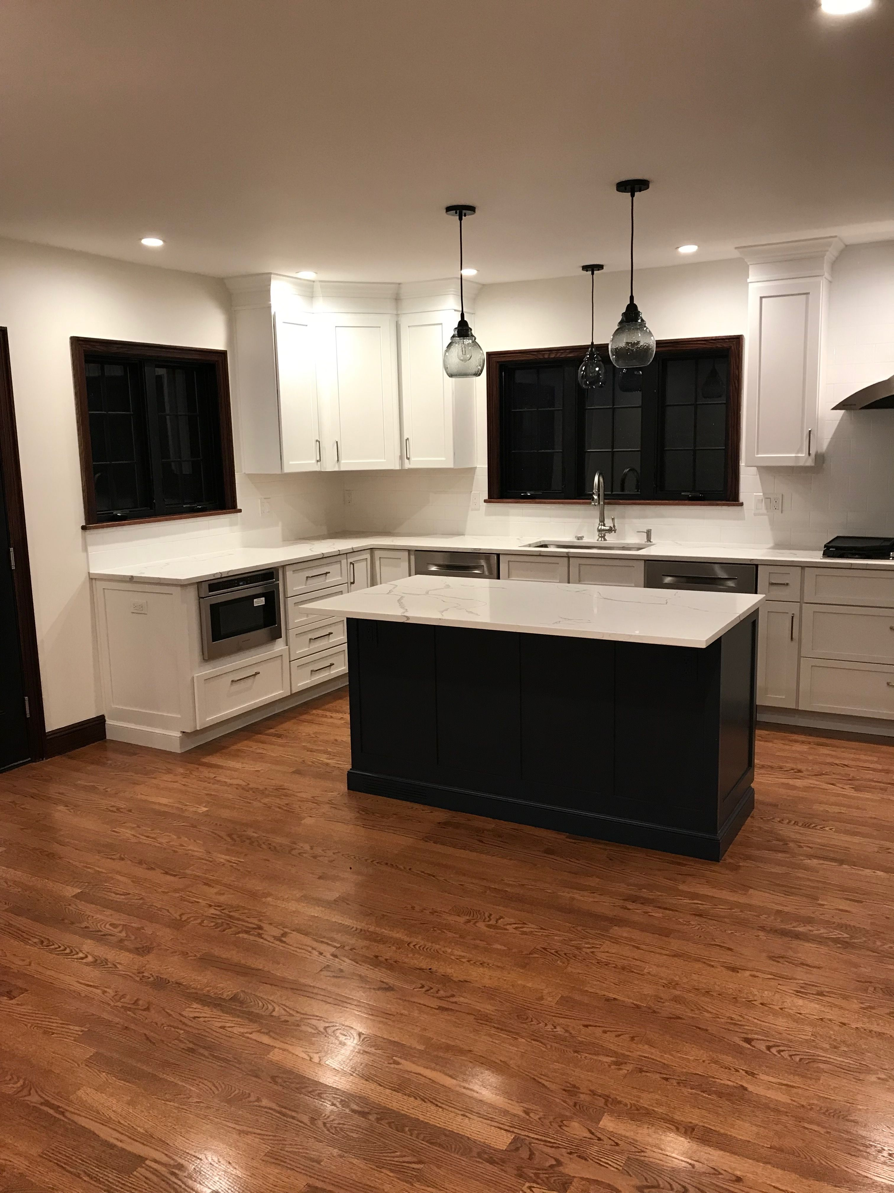 Wrapping Up This Complete Gut Renovation Just In Time For The New Year Kitchen Design Cabinetry And Stone By Us I Kitchen Renovation Kitchen Kitchen Design