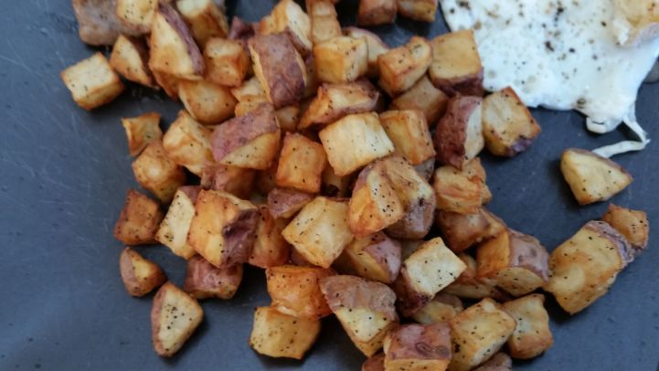 how to cook frozen hash browns in a frying pan