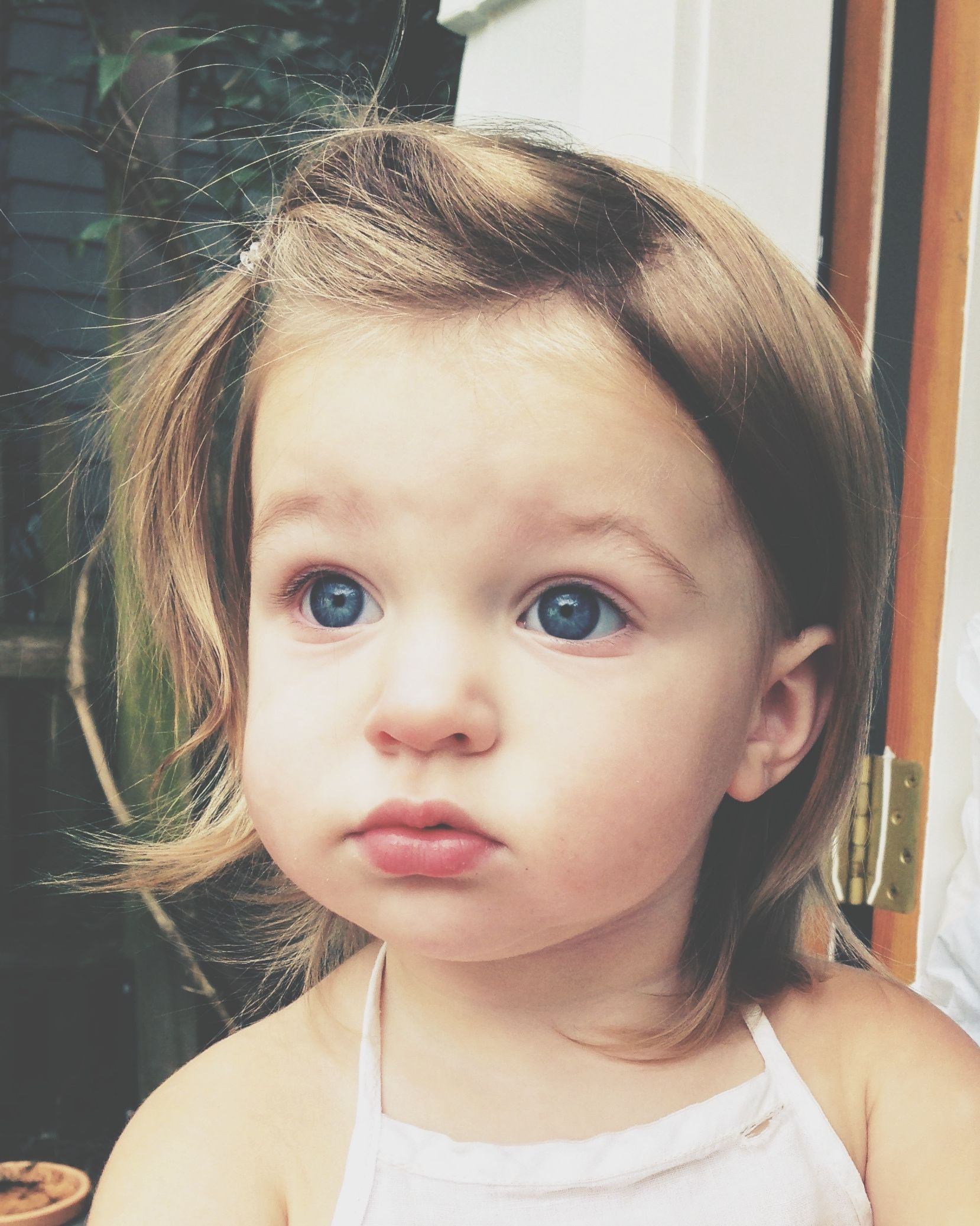 baby girl + bronde + blue eyes | m i n e | pinterest | babies, girls