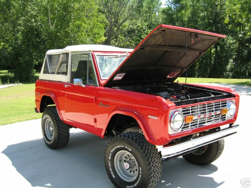 Our dream car to fix up: Old Bronco | Lottery Life | Pinterest ...