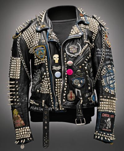 Another Of Axls Jacketsthis One Apparently On Display At Seattles EMP Museum Motorcycle