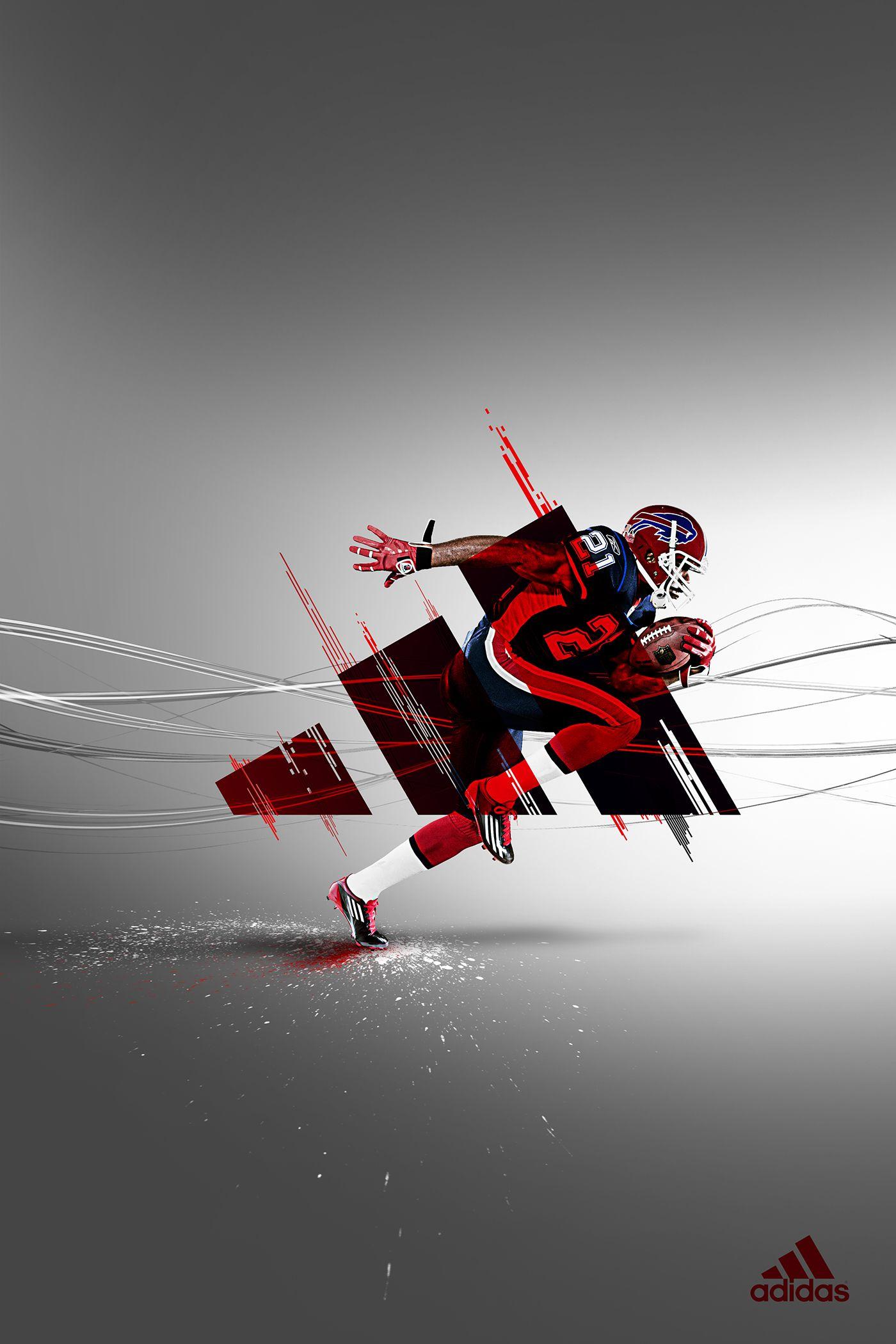 Adidas | Advertisement on Behance | Poster | Sports ...