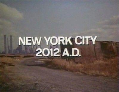 New York, 2012 AD #apocalypse #future #scifi #vhs #film #screencap #irony