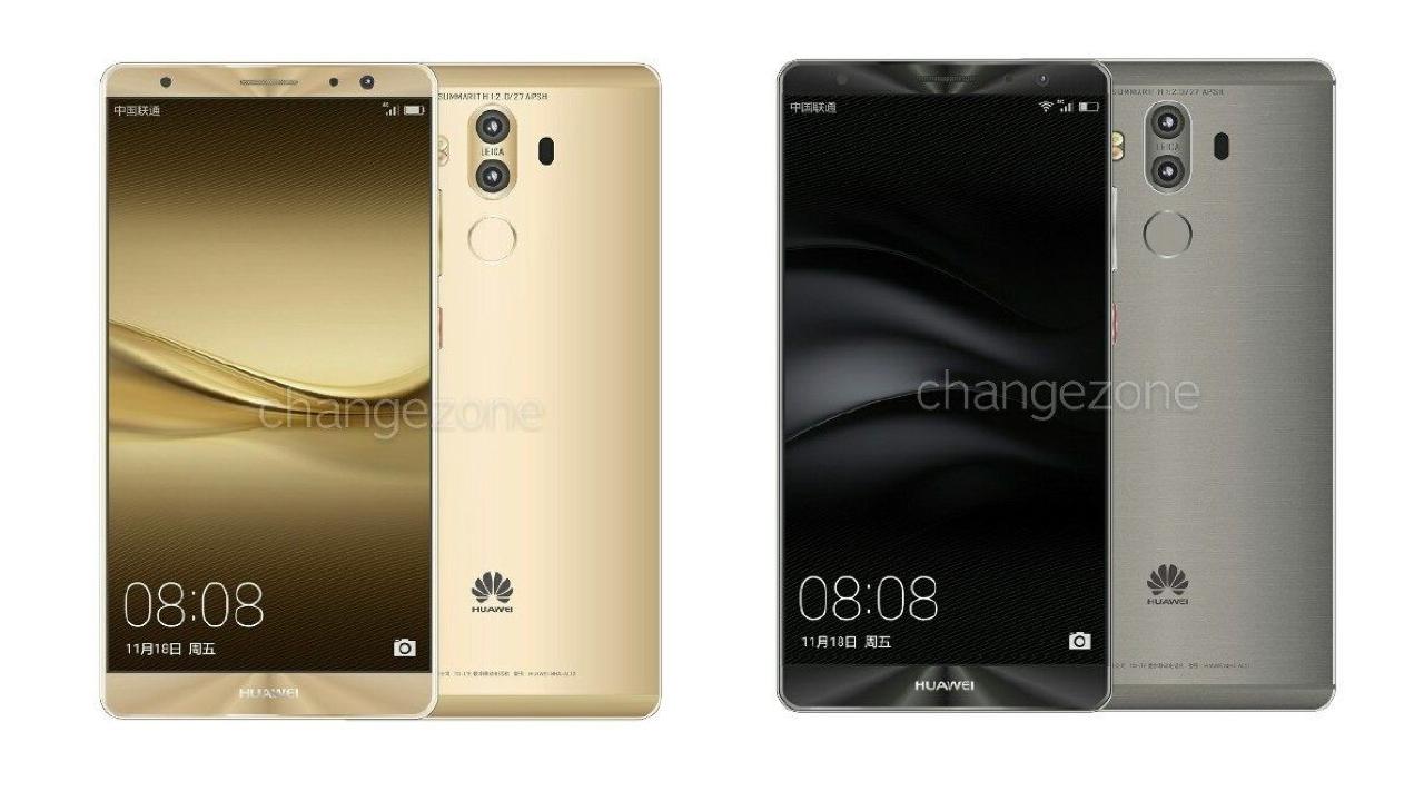 هاتف Huawei Mate 9 قادم بنظام النوجا مع 6 غيغابايت من الذاكرة العشوائية و 256 غيغابايت من المساحة التخزينية - اخبار الامارات العاجلة