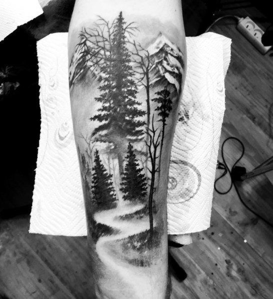 60 Cool Tree Tattoos For Men – Nature Inspired Ink Design Ideas
