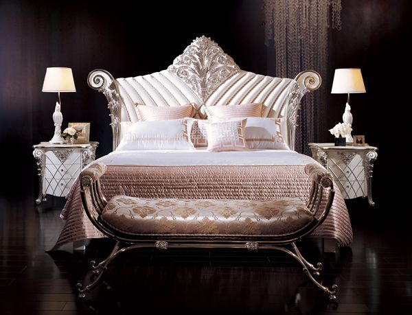 Italian Furniture - Luxurious Laiya Italian Bedroom ...