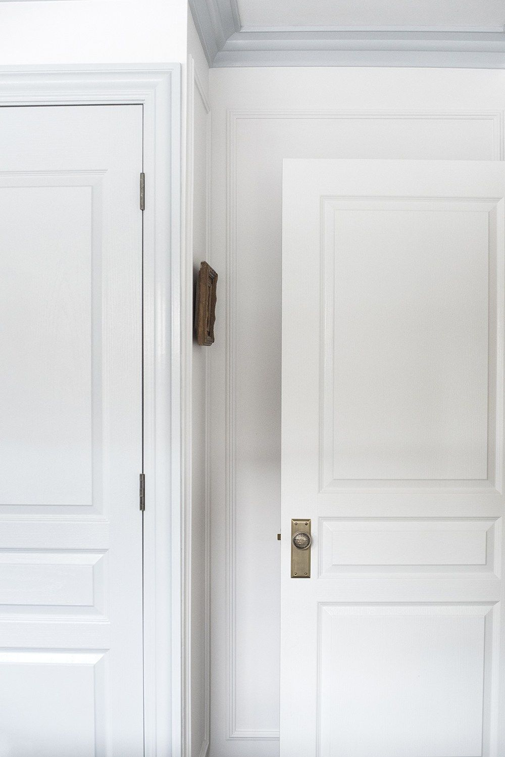Master bedroom entry doors  My Thoughts On Moulding u Millwork  Interiors  Pinterest  House