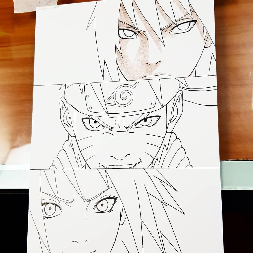 Pin Em Como Desenhar Seus Personagens De Animes E Mangas
