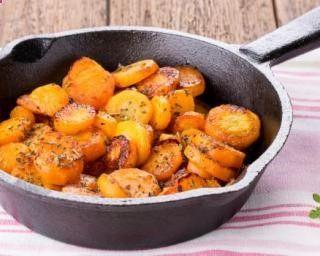 Poêlée de carottes light en sauce crémeuse : www.fourchette-et...