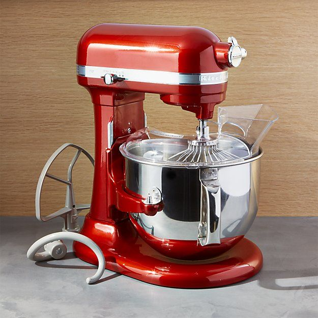 KitchenAid ® Pro Line Candy Apple Red Stand Mixer | Crate And Barrel