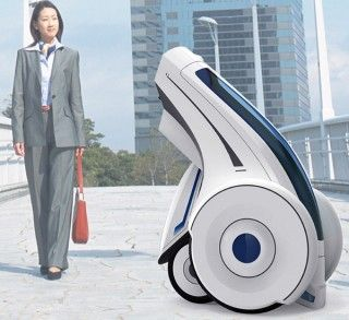 Folding Electric Vehicle,personal pod, green transport, green concept
