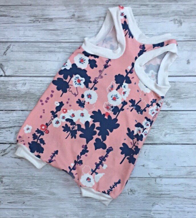 A personal favorite from my Etsy shop https://www.etsy.com/ca/listing/279489046/ready-to-ship-harem-romper-baby-romper