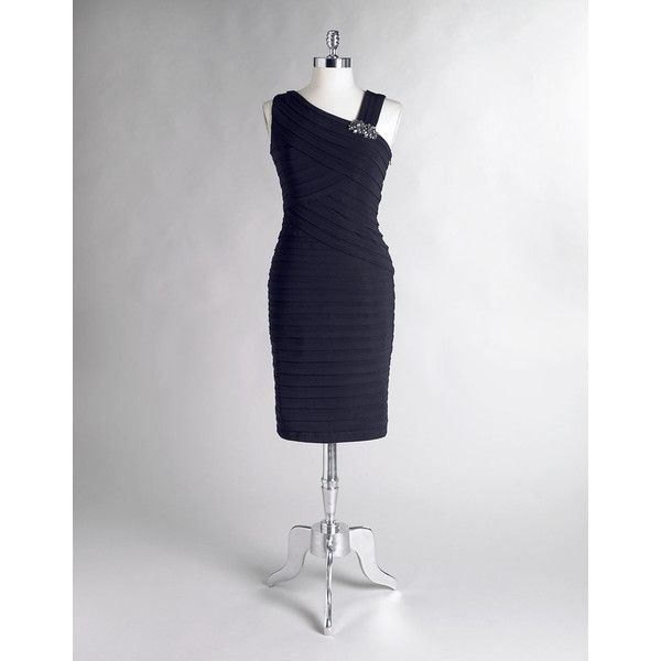 Xscape Shutter Pleat Dresses
