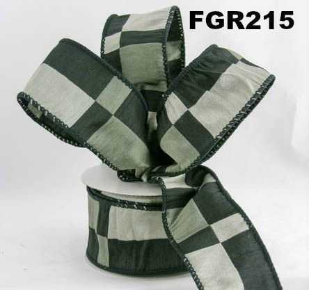 Black/Grey Bar Ribbon
