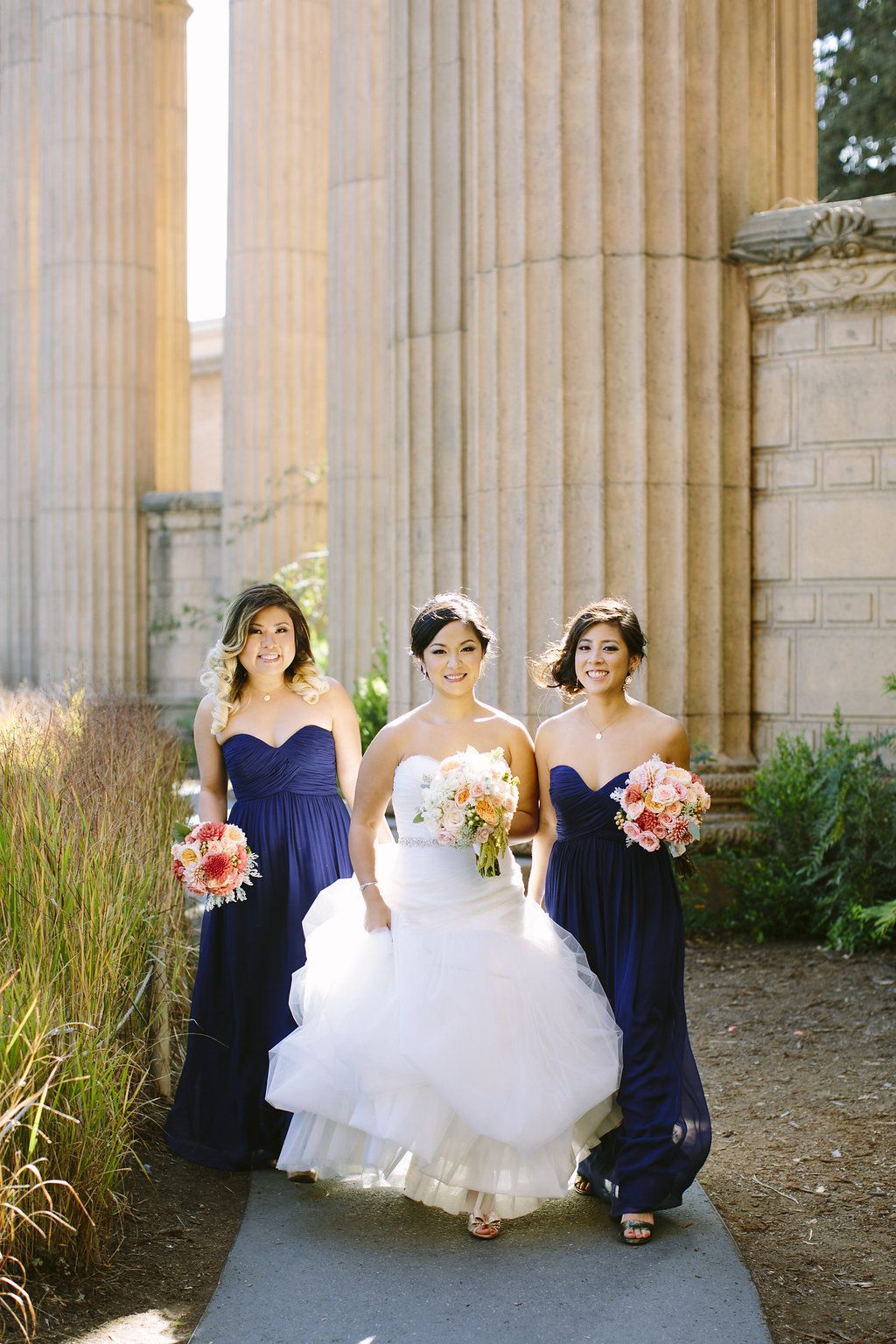 Donna morgan bridesmaid dresses in midnight carmen holt