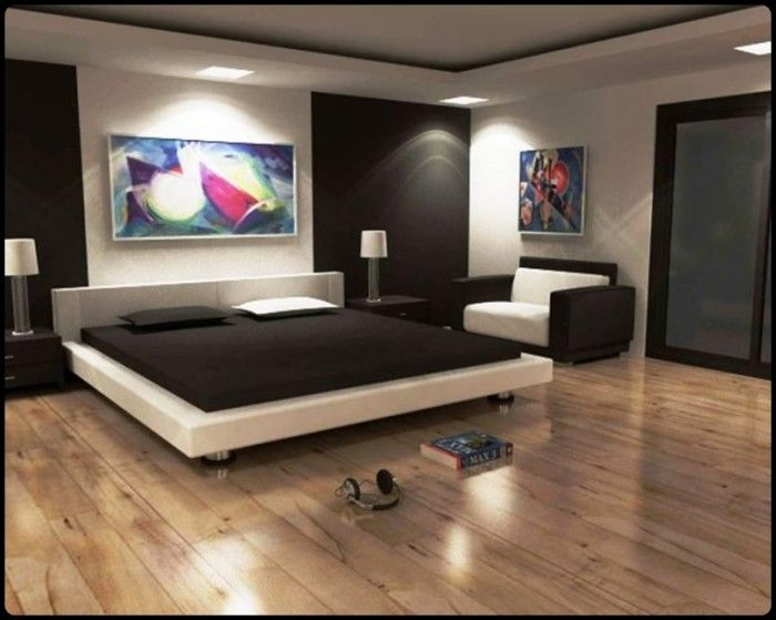 Attractive Modern Stylish Bedroom For Men