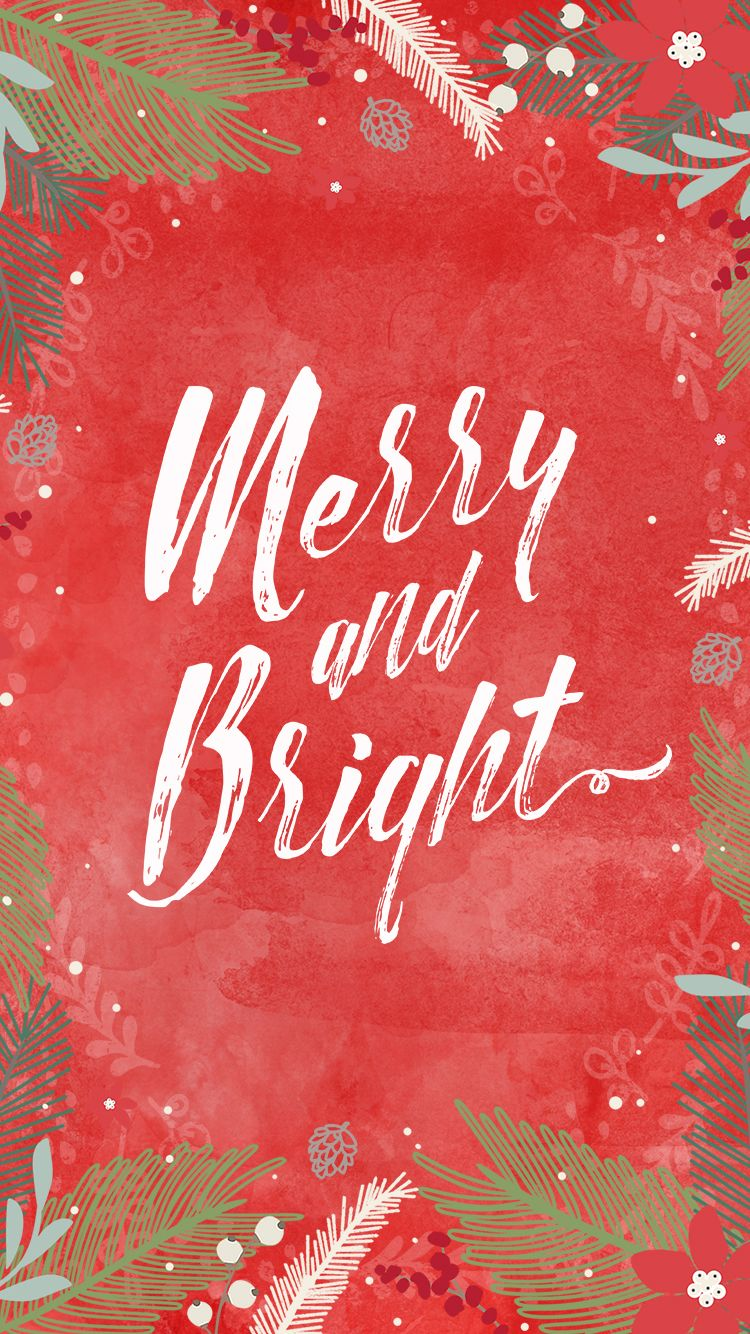 Elegant Free IPhone Holiday Wallpaper From Mixbook