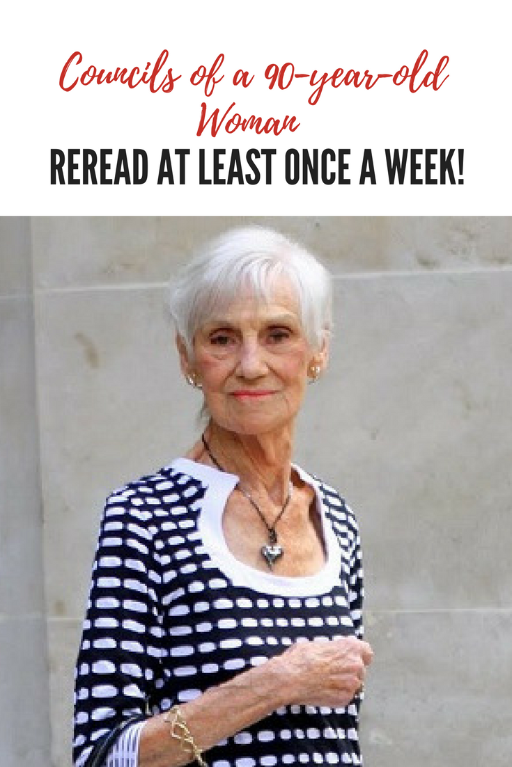 Written by Regina Brett, 90 years old, Cleveland, Ohio