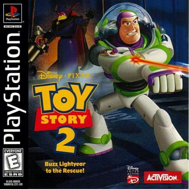 Comprar Jogos Ps 2 Xbox 360 Dvd Xbox360 Playstation 2 Ps2: Jogo Toy Story 2 Para PlayStation PSX PS1 PSONE PS2