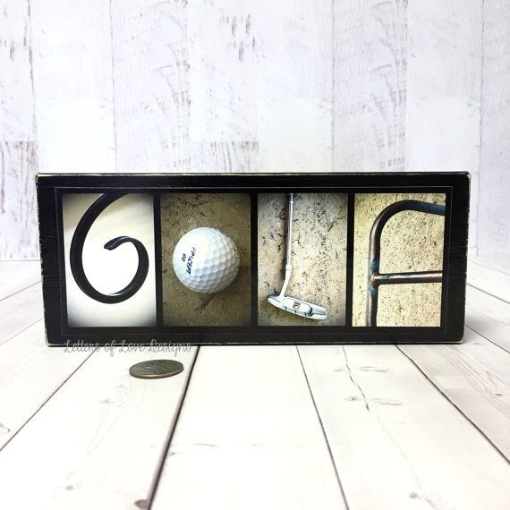 Golf Wood Sign Golfer Gift Golf Gifts for Men Fathers Day ...