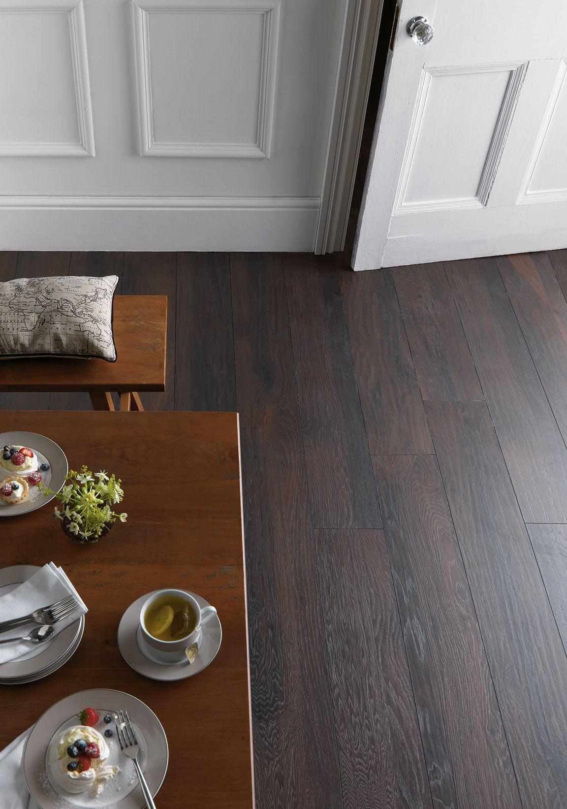 Schreiber Smokey Mountain Hickory Laminate Flooring 1.73
