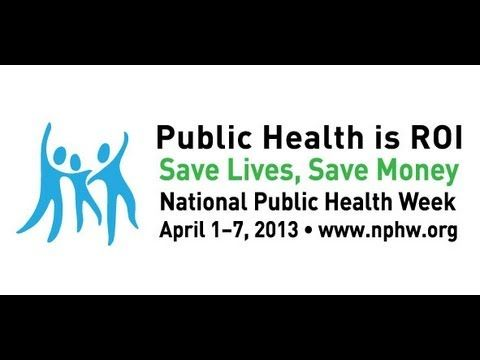 From The Apha For National Publichealth Week Publichealth Is Roi Save Lives Save Money Public Health School Health Health Programs