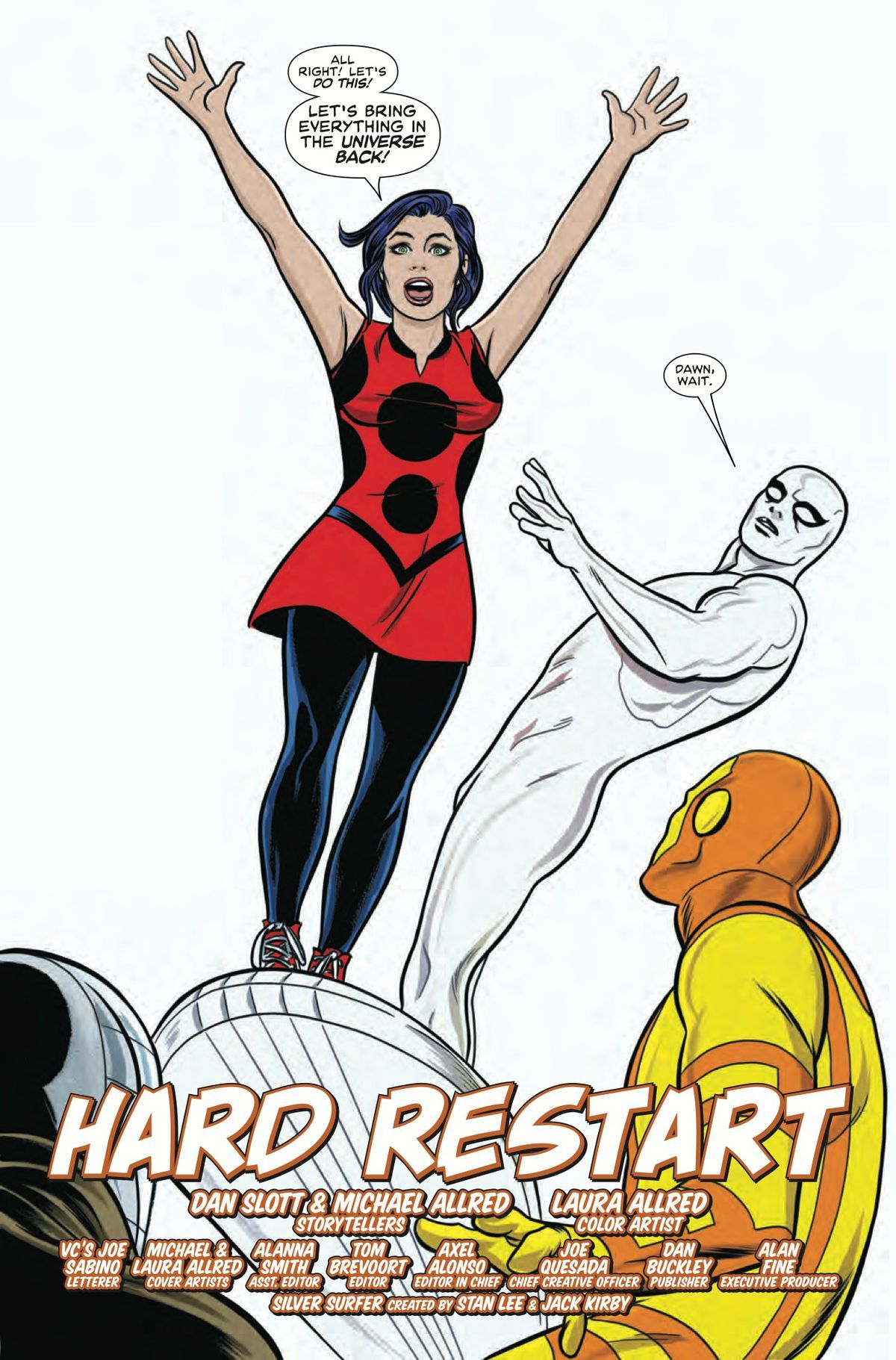 Exclusive marvel preview norrin and dawn try to rebuild