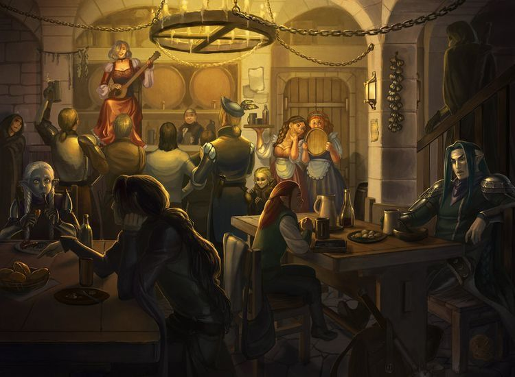 Fireangel and many of the guild in the tavern? Looks like it could