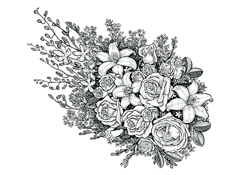 hard coloring pages that you can print hard flower