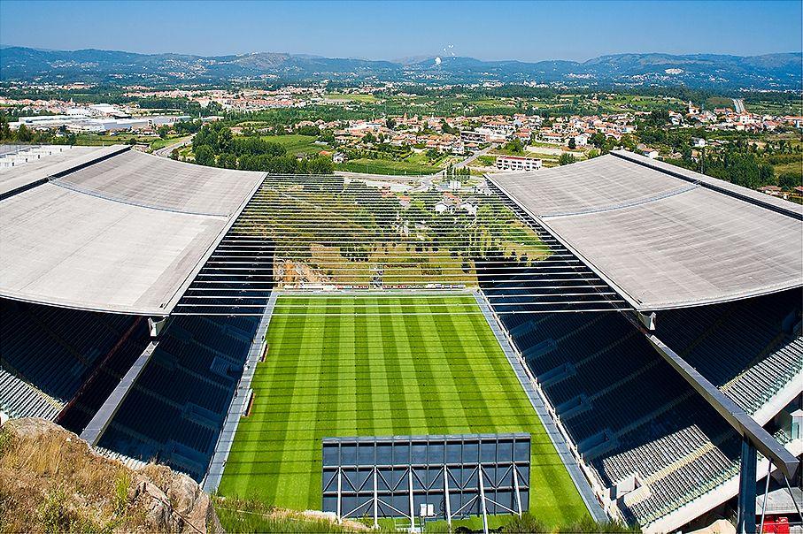 SC Braga: Estadio Municipal De Braga Estadio AXA , Braga, Portugal