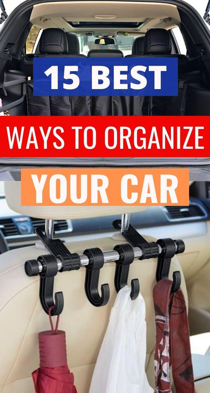 15 brilliant diy car organization ideas that prevent