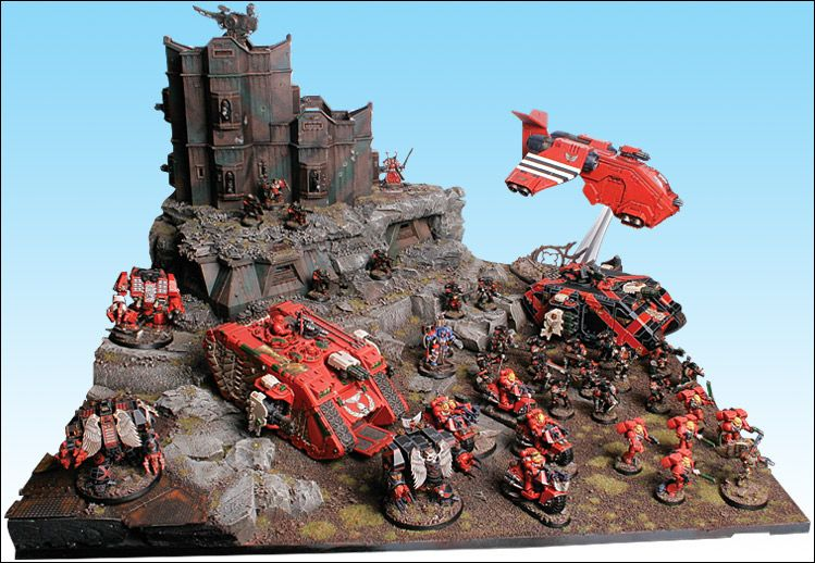 40k - Armies on Parade - Blood Angels | 40k | 40k armies