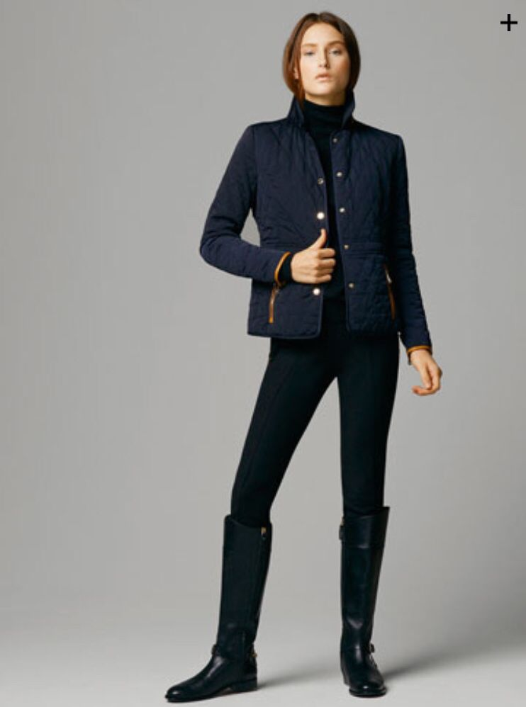 d993f53852 Navy Massimo Dutti Quilted jacket | Weekend | Fashion, Quilted ...