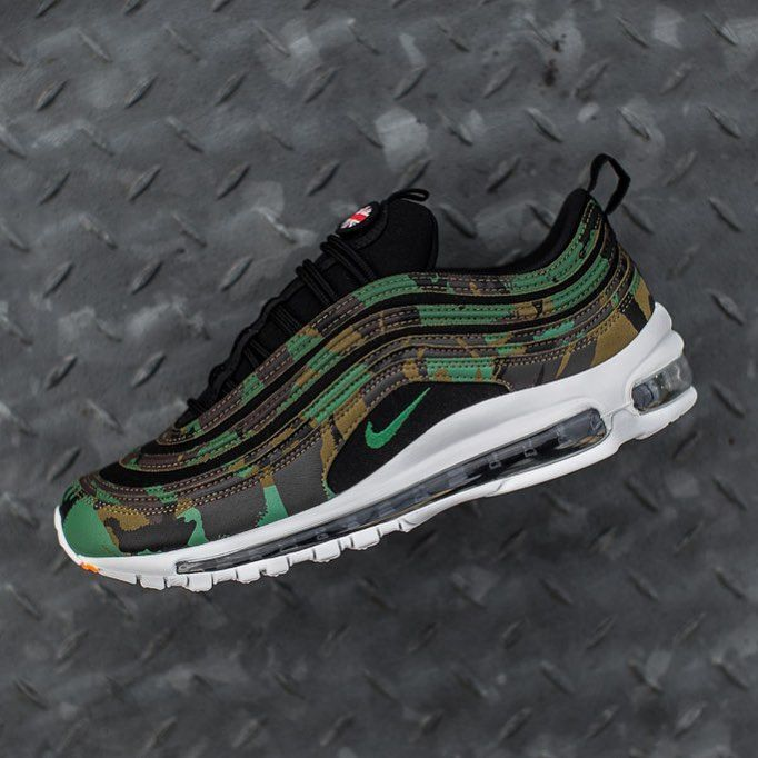 Nike Air Max 97 Premium QS 'Country Camo'   Shoes in 2019
