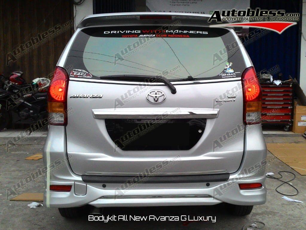 Modifikasi Mobil Avanza G Luxury Modifikasi Mobil Kendaraan Mobil Konsep