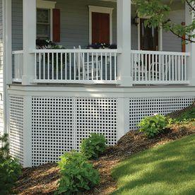 Best Product Image 3 Deck Designs Backyard Lattice Deck 400 x 300