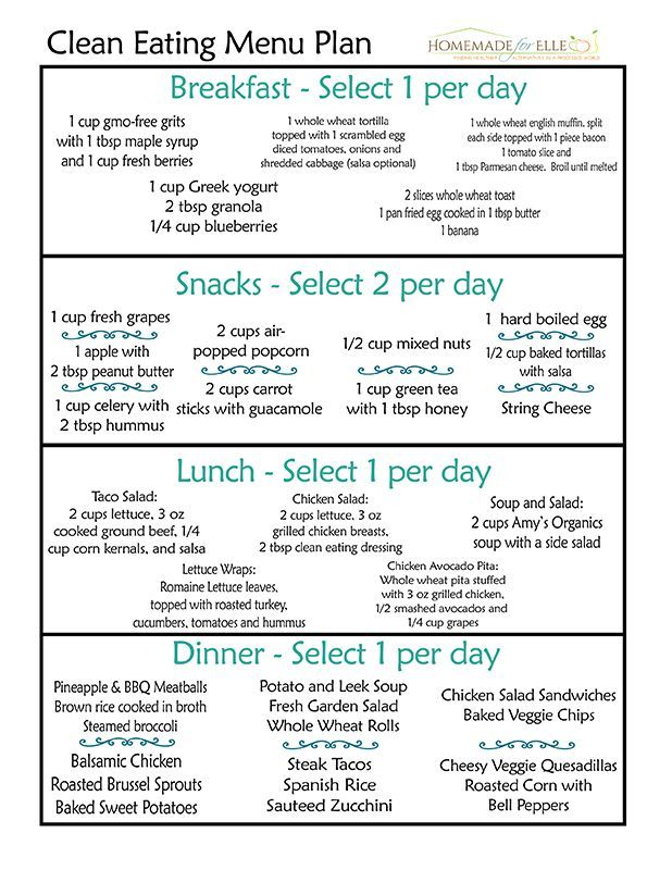 Diet Menu Template Meal Planning Template Cents And Order Diet Menu