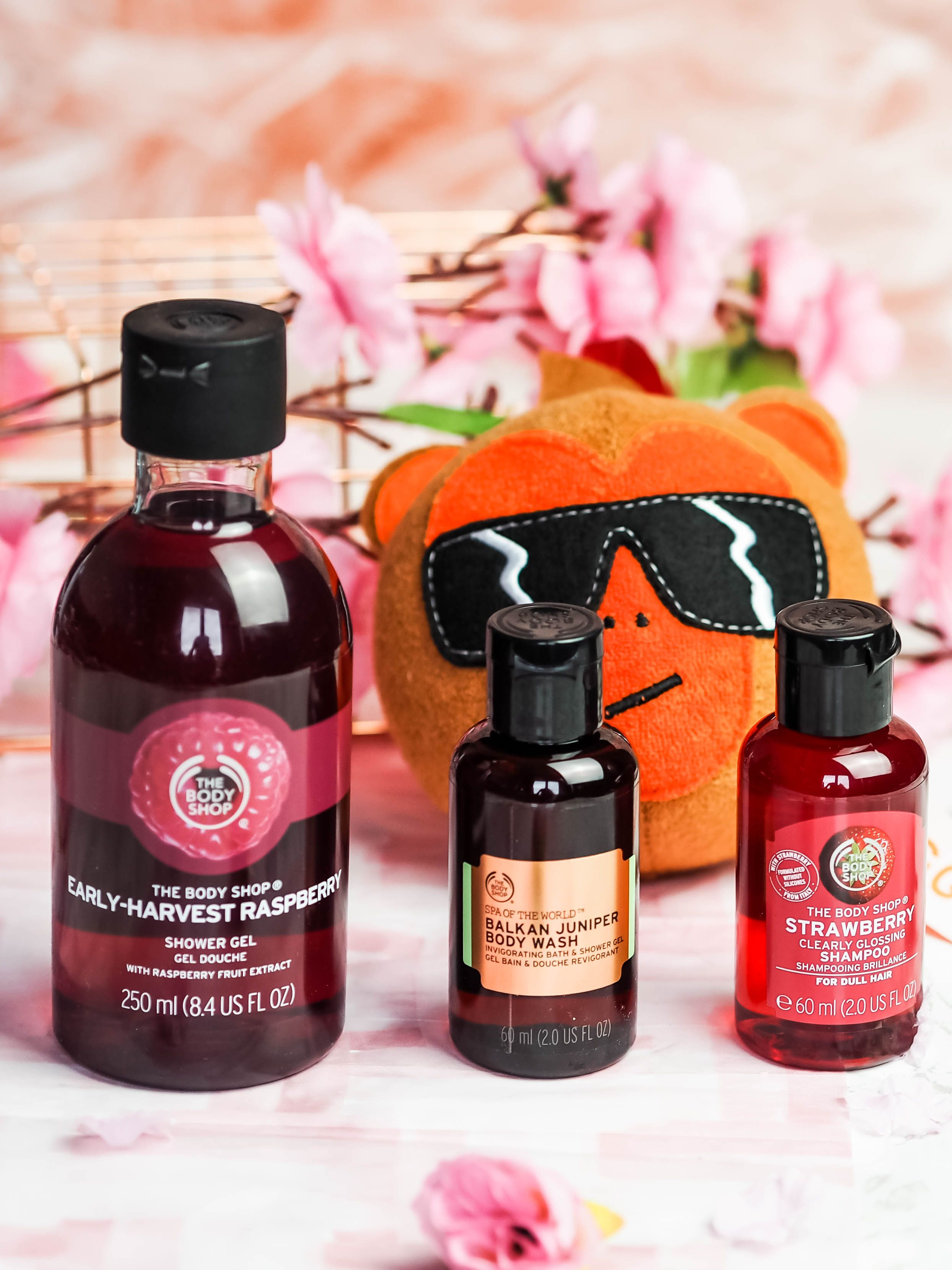 A beauty haul at The Body Shop The Violet Blonde The