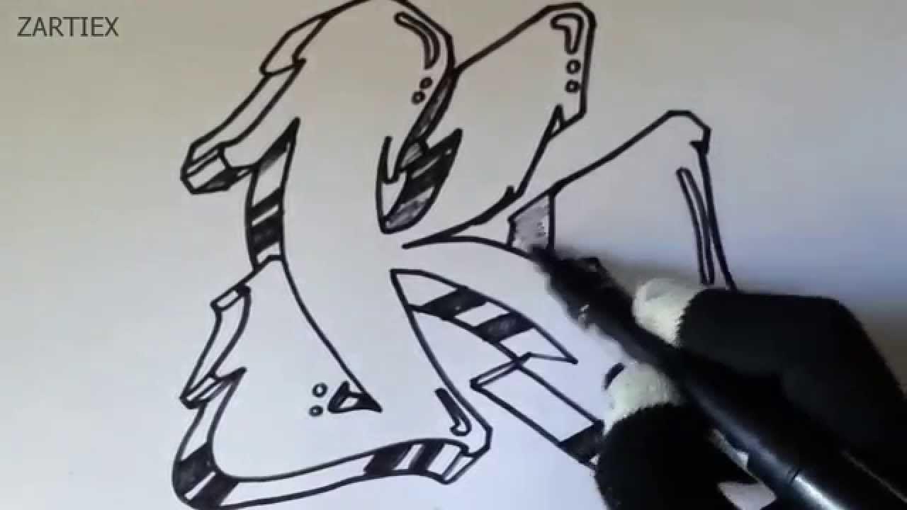 Graffiti Como Hacer Letras De Graffitis 3d Faciles Letras De