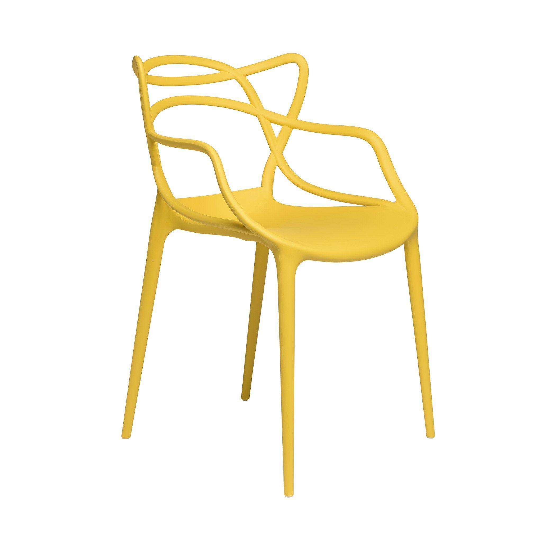 Set of masters entangled chair yellow products pinterest