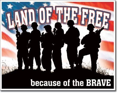 Land Of The Free Because Of The Brave 4th of july happy 4th of july 4th of july quotes happy independence day land of the free home of the brave